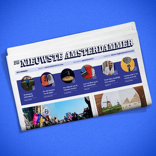 [VOLLEDIG UITVERKOCHT!] De Nieuwste Amsterdammer (1 krant + 20,- donatie)