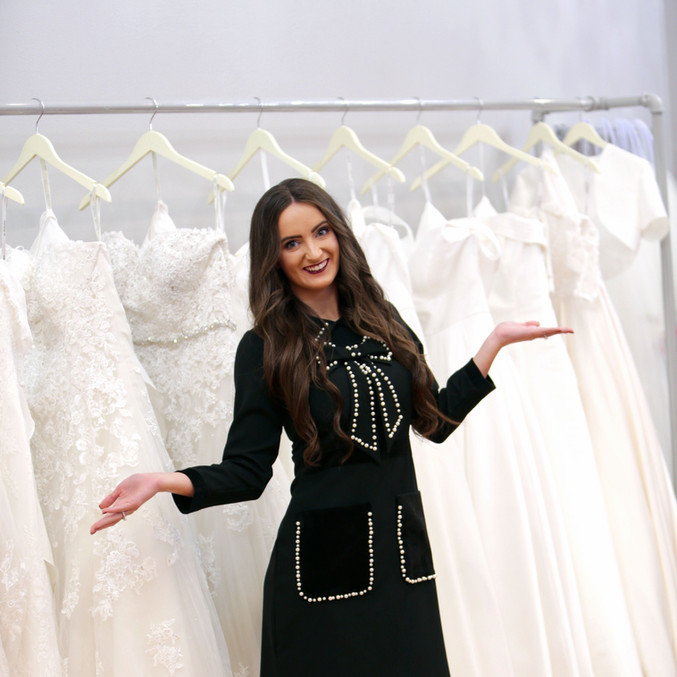 Katelyn at All In One Bridal