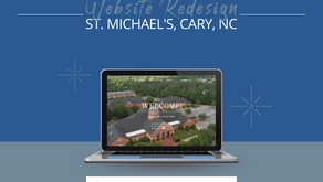 Website Redesign: St. Michael's, Cary, NC