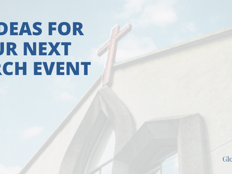 50+ Ideas for Your Next Church Event
