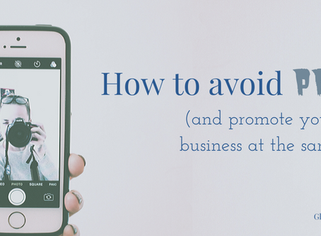 How to avoid pride and promote your small business at the same time