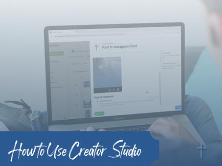 How to Use Creator Studio