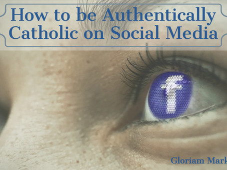 How to be authentically Catholic on social media
