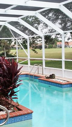 Pool enclosure / Metal Structures - ProBR Construction & Restoration