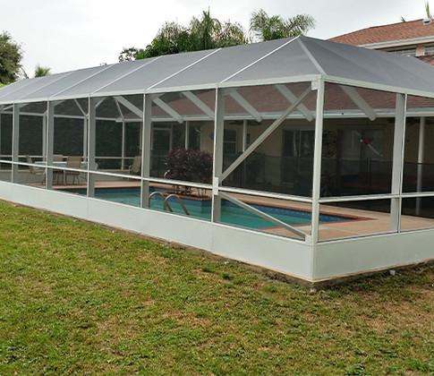 Pool enclosure - ProBR Construction & Restoration