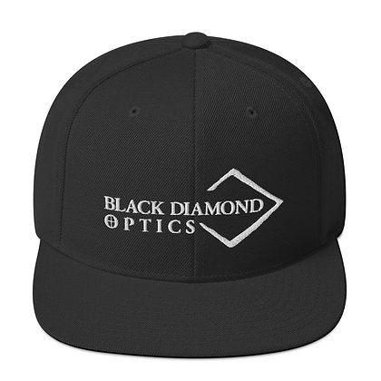 Black Snapback Hat w/Signature Logo