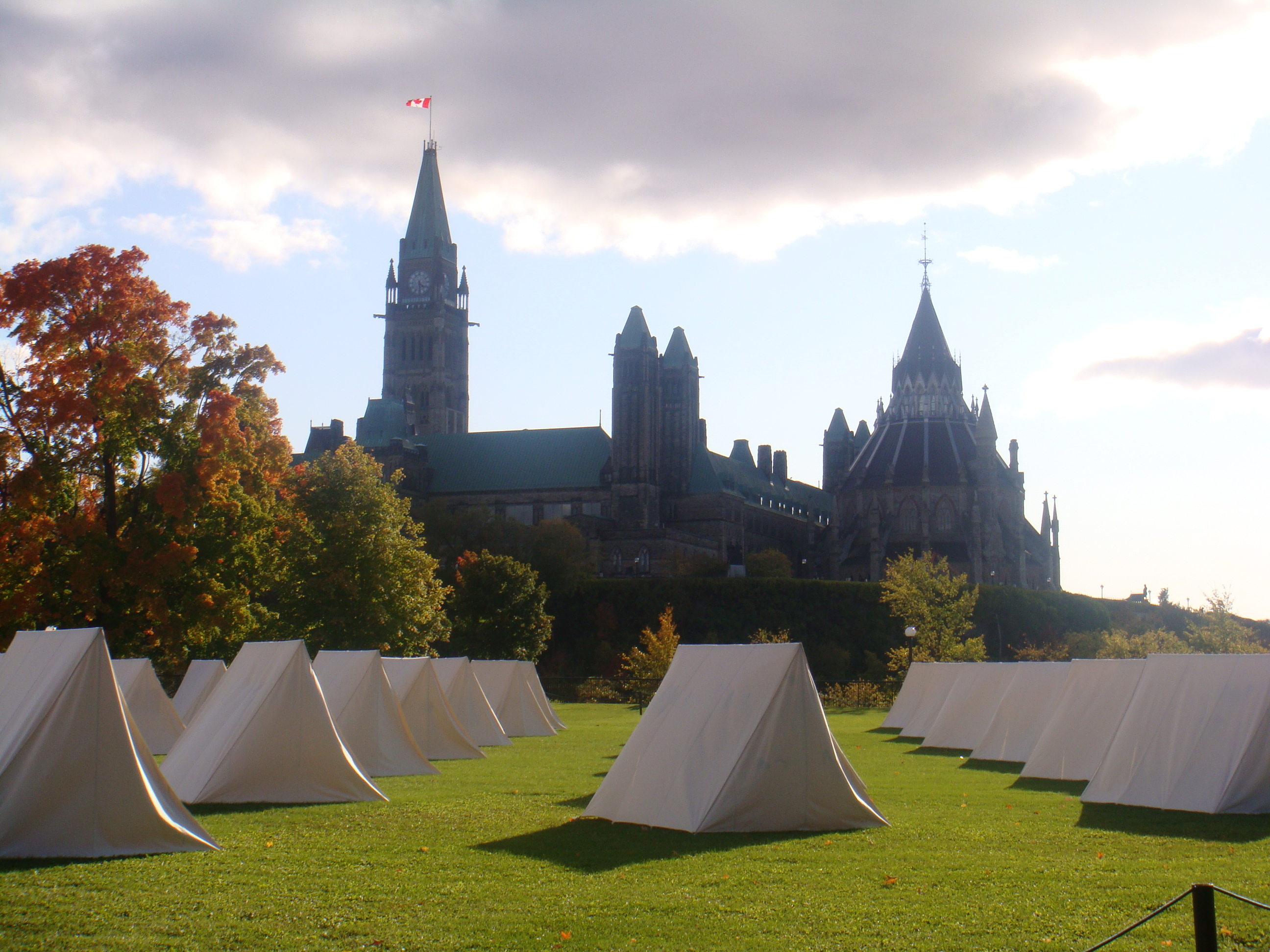 The Encampment Ottawa 2008