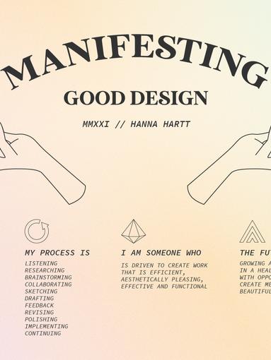 Designer Manifesto