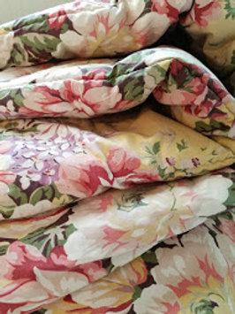 Ralph Lauren Sophie Brooke Twin Comforter Yellow Floral