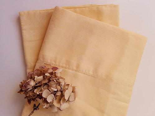Fairchild Wheat Ralph Lauren King Case~Pair~Cotton