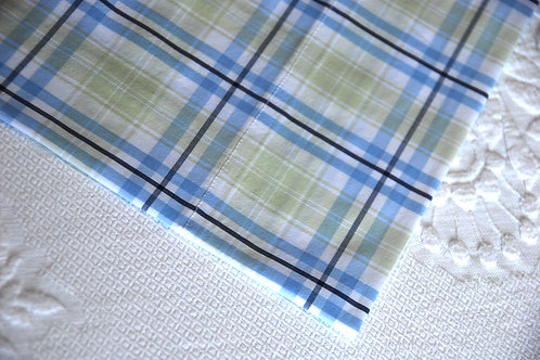 Pottery Barn Kids Riley Twin Flat/Fitted Sheets Plaid