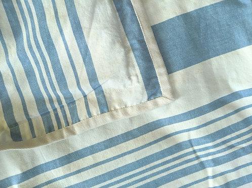 Ralph Lauren Catalina Island Standard Sham Cream Blue