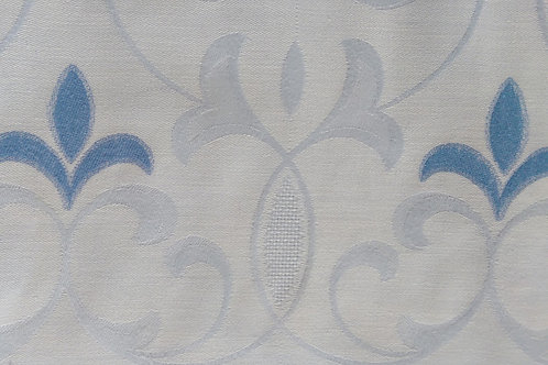 Small Damask Tablecloth~German Blue