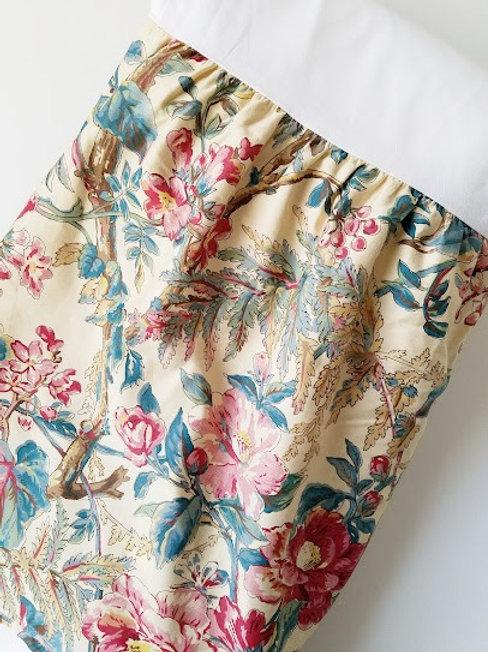 """Ralph Lauren Tangier Floral King Bed Skirt 17.5"""" Drop"""