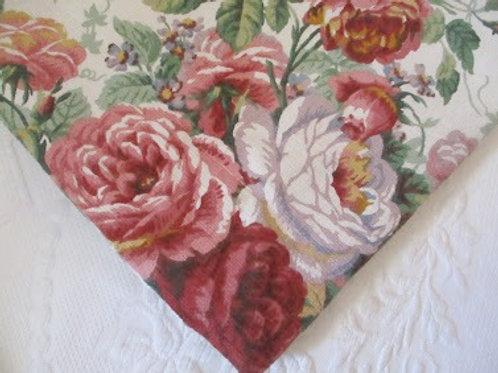 Westpoint Stevens Floral Std. Shams Cottage Rose~Cotton
