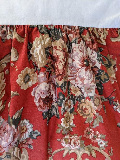 """Ralph Lauren Danielle Marseilles Queen Bed Skirt 15"""""""
