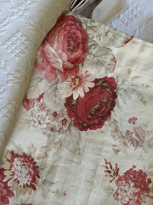 "Waverly Norfolk Rose Valance 60"" x 18.5"""