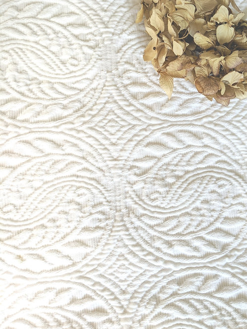 Peacock Alley Twin Matelasse Bed Skirt White