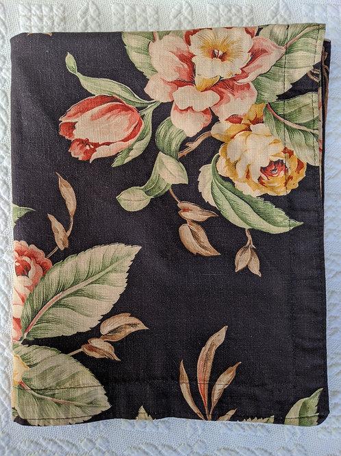Ralph Lauren Charleston Black Floral Standard Sham