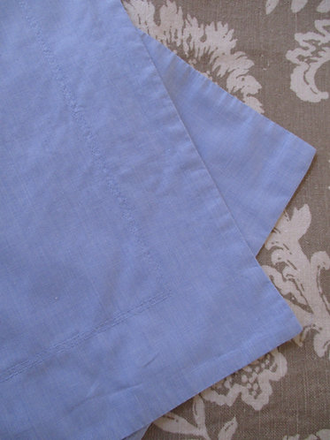Thomas O'Brien Vintage Modern Euro Shams~Blue