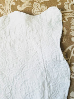 Matelasse Shams Earl and Wilson Standard Portugal White