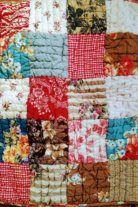 Providence Pottery Barn Euro Sham~Patchwork~Toile, Floral, Plaid