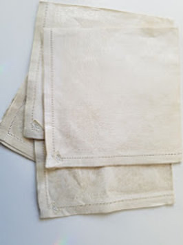 Vintage Luncheon napkins~ Set of 4 ~Made in Czechoslovakia