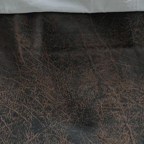 Croscill Plateau Sante Fe Faux Leather Southwestern Queen Bedskirt