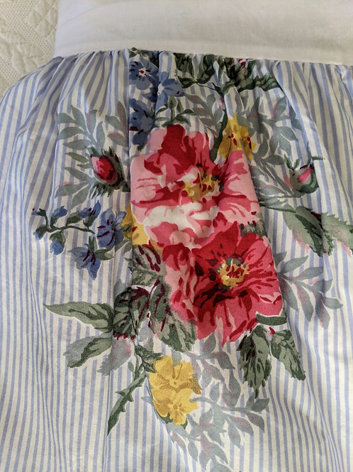 CHAPS Ralph Lauren Nantucket Garden Queen Bed Skirt