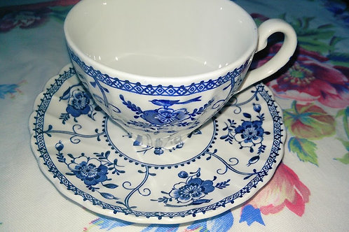 Johnson Bros. Indies Cups & Saucer Set of Four