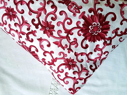 Ralph Lauren Red Porcelain Twin Fitted Sheet