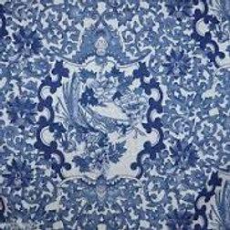 Ralph Lauren Blue Porcelain Tamarind Queen Duvet/Shams