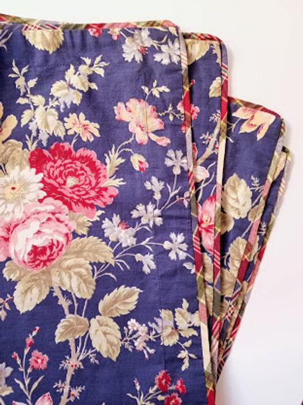 CHAPS Ralph Lauren Cape Cod King Pillow Shams Cottage Floral