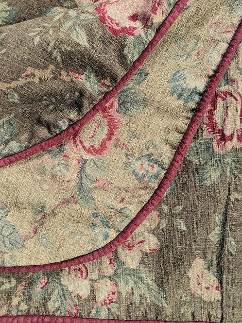 Legacy Ryan Co. Queen Duvet Cover Floral Reversible Cotton Linen