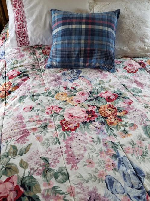 Ralph Lauren Allison Twin Comforter Floral Ribbons