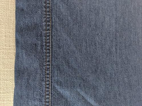 EDDIE BAUER HOME FQ Blue Denim Duvet 100% Cotton Tailored