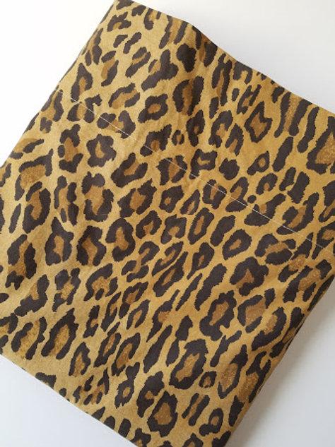 Ralph Lauren Aragon Medieval Leopard Twin Flat Sheet