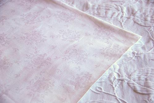 """Vintage Jacquard German Duvet Cover Cotton 52"""" x 74"""""""