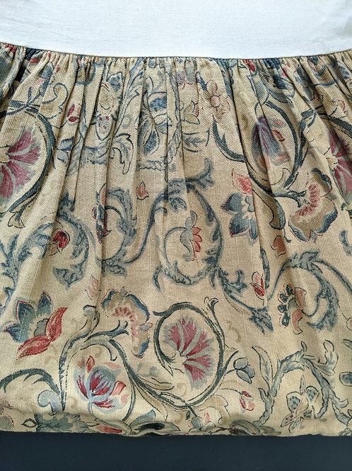 """Provence Ralph Lauren Queen Bed Skirt 13.5"""" Floral Linen"""