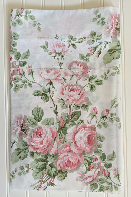 Laura Ashley Valance Country Roses Floral Pink Green 18x84