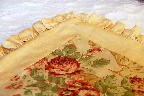 Ralph Lauren Grosvenor Linen Pillow Cover