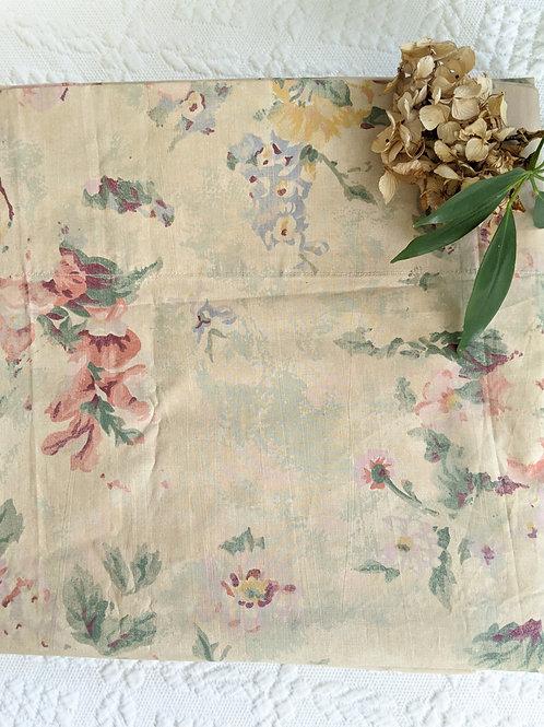 Ralph Lauren Francesca Twin Flat Sheet Floral New