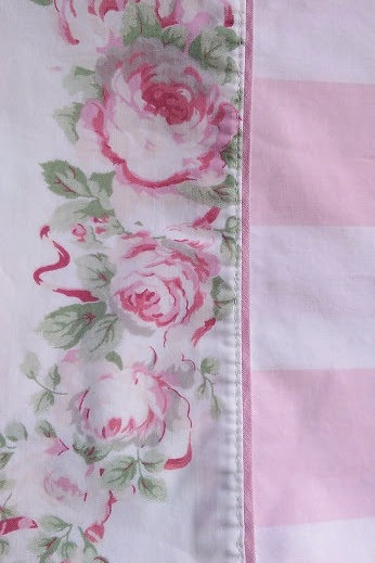laura ashley country roses king pillow case