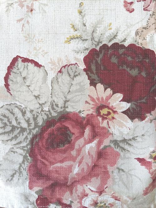 Waverly Norfolk Napkins~Set of Four~Red Floral