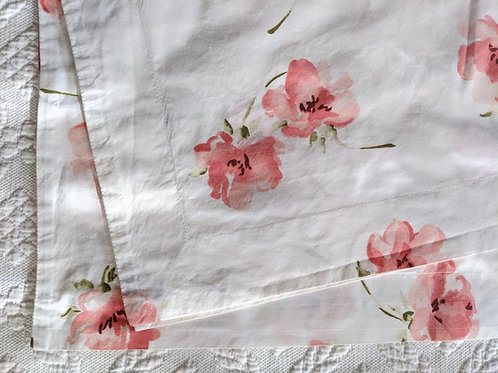 Eddie Bauer Queen Size Duvet Cover Cherry Blossoms Portugal
