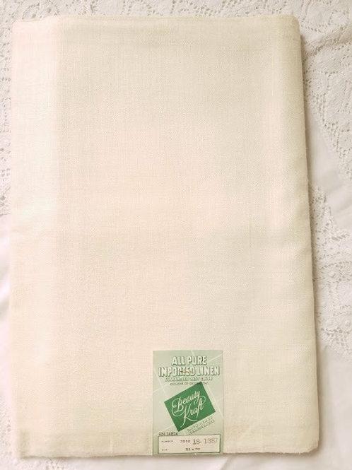 Pure Linen~Imported~Beauty Kraft~52x70