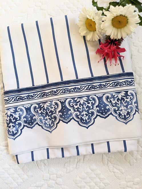 Ralph Lauren Blue Porcelain Tamarind Standard Pillowcase