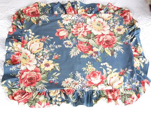 Ralph Lauren Kimberly Ruffled Standard Sham Pair Cotton
