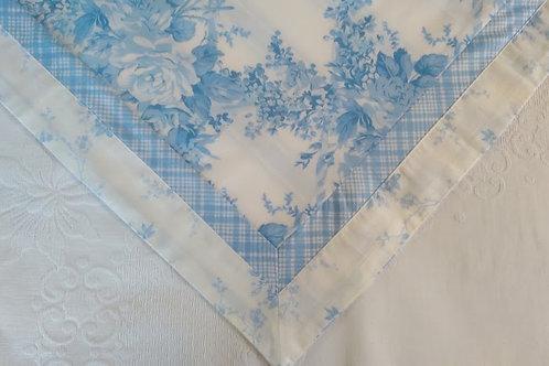 Rachel Ashwell Treasures~Std. Sham~Blue/White