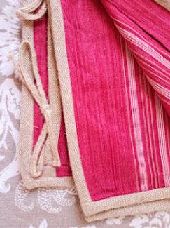 Ralph Lauren Seychelles San Luca Red Stripe King Shams